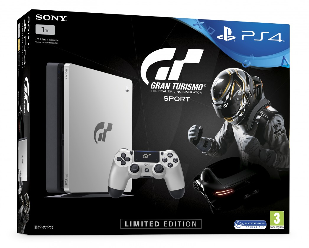 Herní konzole PlayStation 4 SONY PS4 1TB+Gran Turismo Sport Spec.ed.+That's You+PSPlus 14dní