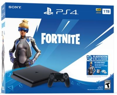 Herní konzole PlayStation 4 Sony PS4 (F chassis) 500gb + Fortnite 2000 V Bucks