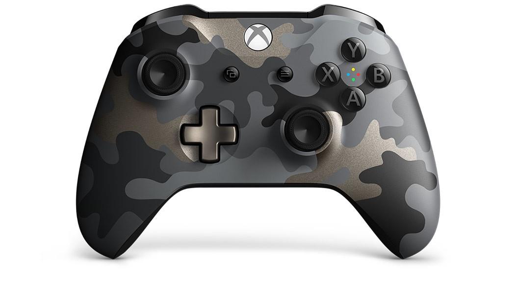Herní konzole Xbox One Bezdrátový ovladač Xbox One SE Night Ops Camo