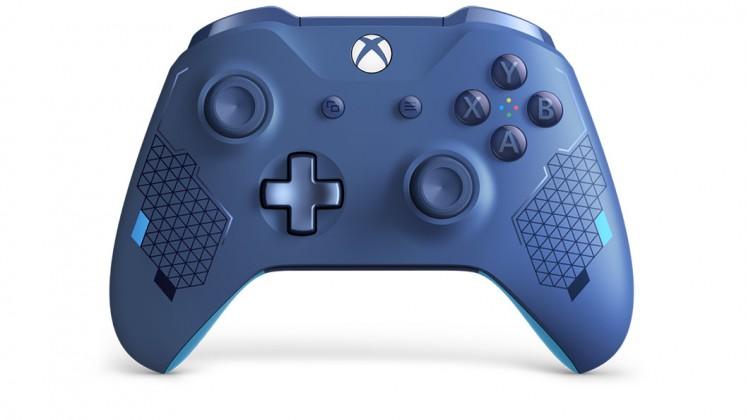 Herní konzole Xbox One Bezdrátový ovladač Xbox One SE Sport Blue