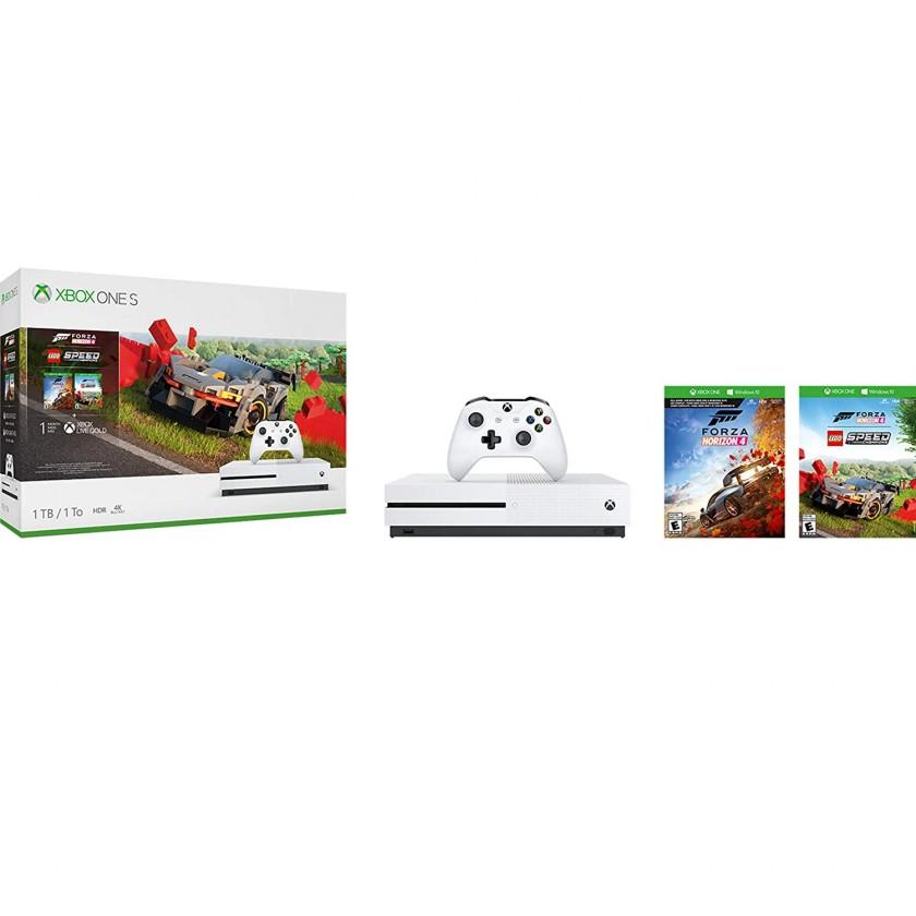 Herní konzole Xbox One XBOX ONE S 1 TB + Forza Horizon 4 + Lego DLC