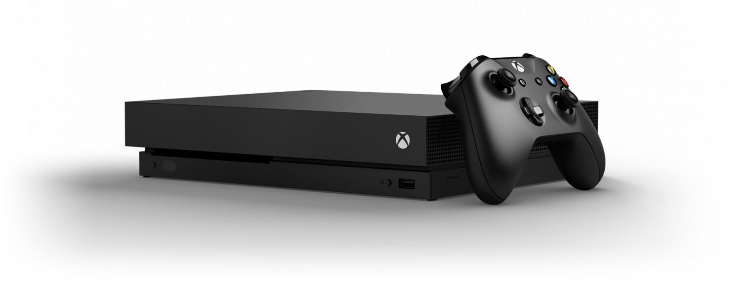 Herní konzole Xbox One XBOX ONE X 1 TB + Star Wars: Fallen Jedi Order