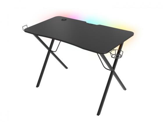 Herní křesla Herní stůl Genesis Holm 200 RGB s RGB podsvícením