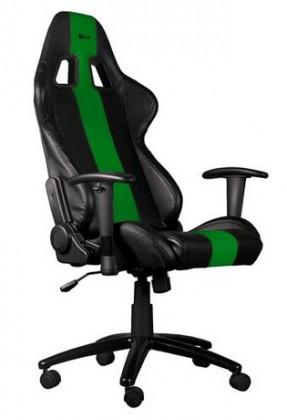 Herní křeslo C-TECH PHOBOS (GCH-01G), černo-zelené