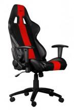 Herní křeslo C-TECH PHOBOS (GCH-01R), černo-červené