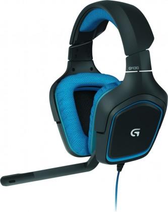 Herní Logitech Gaming Headset G430, blue, 7.1surround sound