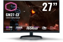 "Herní monitor Cooler Master GM27-CF, 27"", 165 Hz, 3 ms"