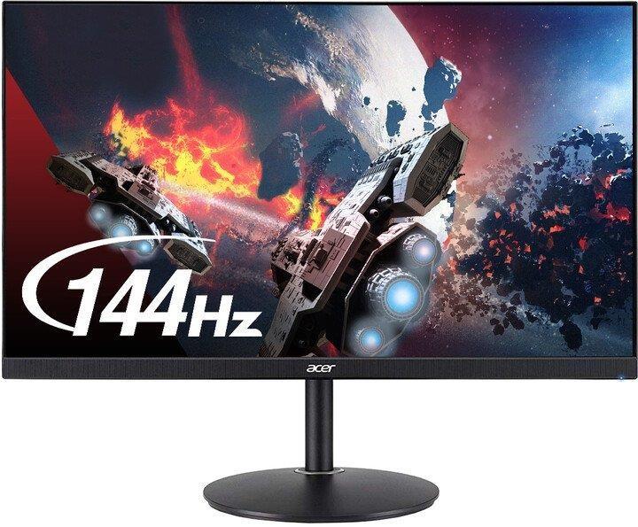 Herní monitor Monitor ACER Nitro XF272UP, 27'', herní, 144 Hz, HDMI 2.0, černá