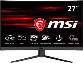 """Herní monitor MSI Optix G27CQ4, 27"""", zakřivený"""