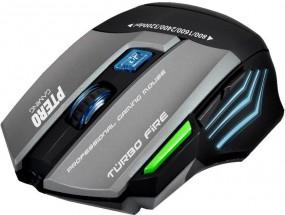 Herní myš EVOLVEO Ptero GMX90, 3200DPI, RGB podsvícení, 7 tlač.