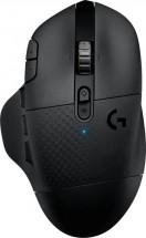 Herní myš Logitech G604 LIGHTSPEED, bezdrátová, černá
