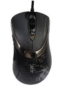Herní myši A4tech F4, černá