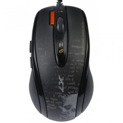 Herní myši A4tech F5, černá