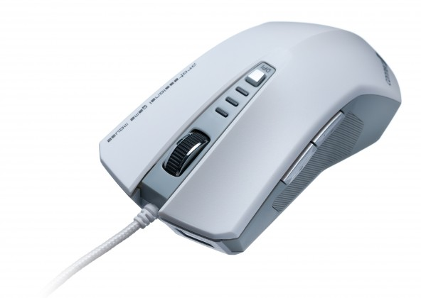 Herní myši Connect IT CI-188 Tomcat, bílá