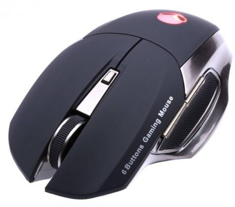 Herní myši Connect IT CI-455 ALIEN laserová myš pro hráče, černá