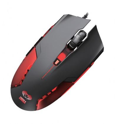 Herní myši E-Blue Cobra II, červená