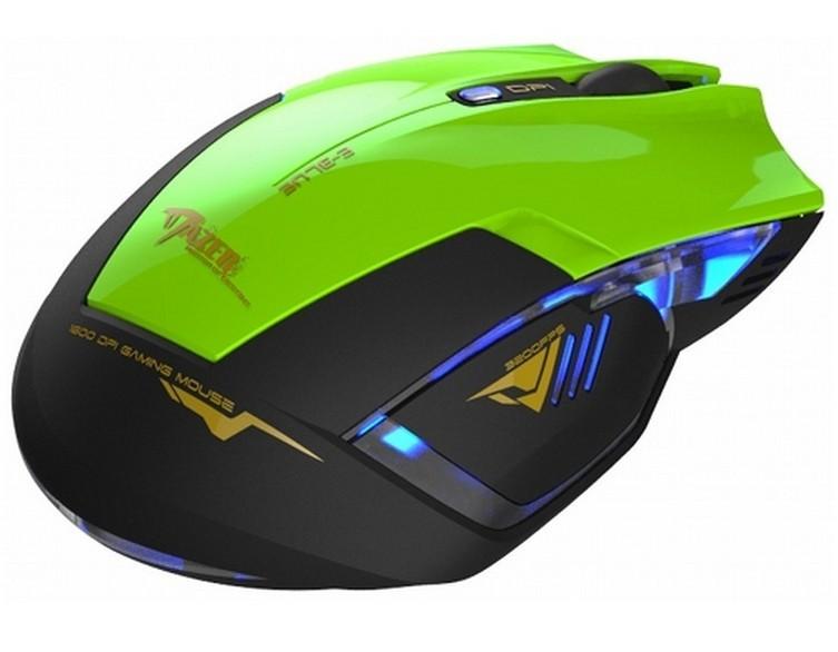 Herní myši E-Blue Mazer R, zelená