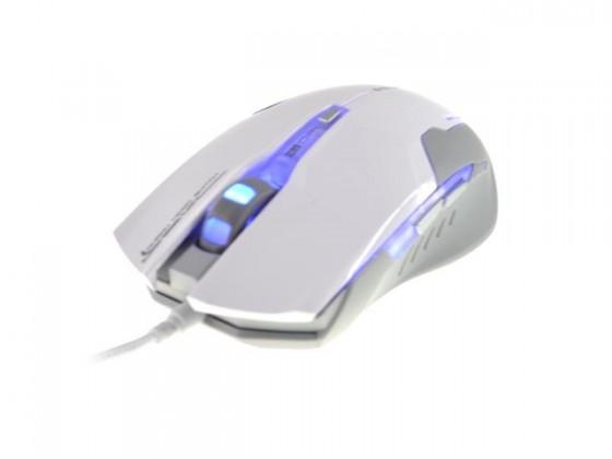 Herní myši E-Blue Myš Auroza G, bílá