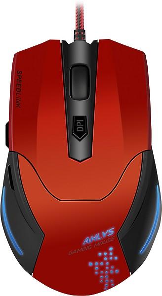 Herní myši Gaming Mouse SL-680001-BKRD AKLYS, Speed Link, red-black