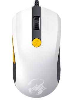 Herní myši Genius GX Gaming Scorpion M8-610 bílo-žlutá (31040064103) POUŽITÉ