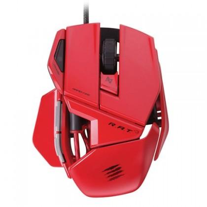 Herní myši Mad Catz R.A.T.3 GM, červená