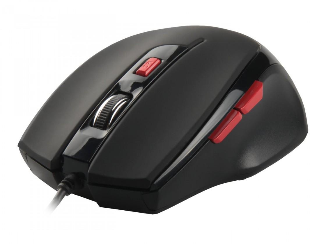 Herní myši Natec Genesis G33 herní optická myš, 2000 DPI, USB, černá