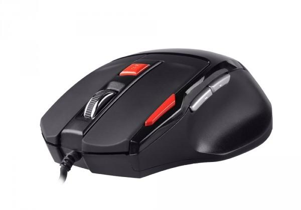 Herní myši Natec Genesis G55 herní optická myš, 2000 DPI, USB, černá