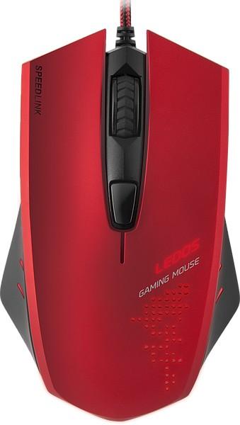 Herní myši SPEED LINK LEDOS Gaming Mouse, červená