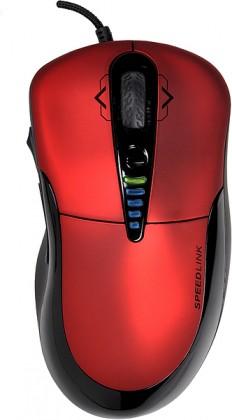 Herní myši SPEED LINK PRIME Gaming Mouse, červená