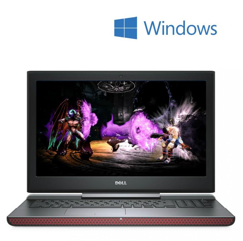 Herní notebook Dell Inspiron 15 N-7566-N2-712R, černá/červená
