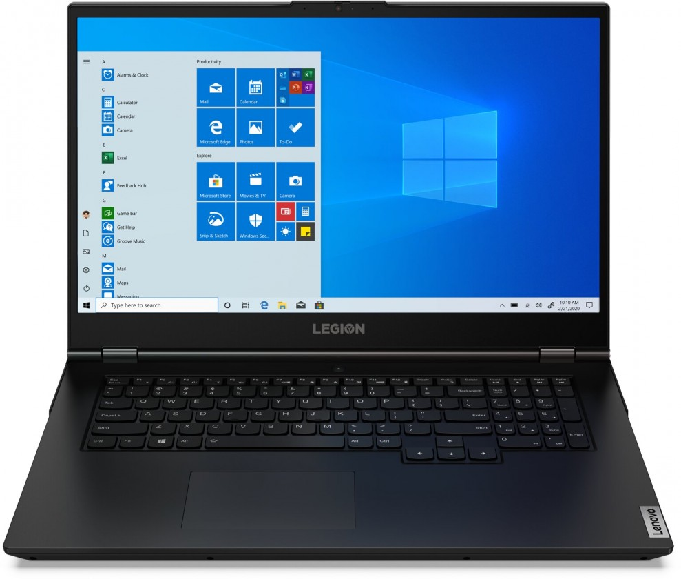 """Herní notebook Herní notebook Lenovo Legion 5 17.3"""" i7 16GB, SSD 512GB, GTX1660"""