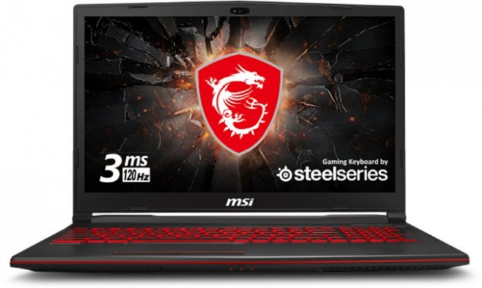 """Herní notebook Herní notebook MSI GL63 9SD-887CZ 15"""" i7 16GB, SSD 512GB, 6GB"""