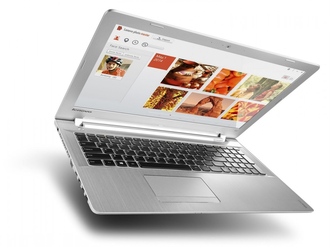 Herní notebook Lenovo IdeaPad 500 80NT00Y7CK, stříbrná