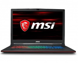 "Herní notebook MSI 17,3"" i7 8GB, SSD+HDD, GP73 8RE-624CZ + ZDARMA Antivirový program Bitdefender Plus"