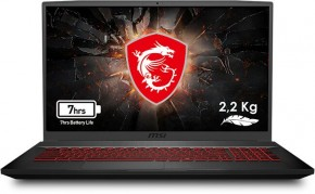 "Herní notebook MSI GF75 Thin 9SC-210CZ 17"" i7 16GB, 512GB, 4GB"