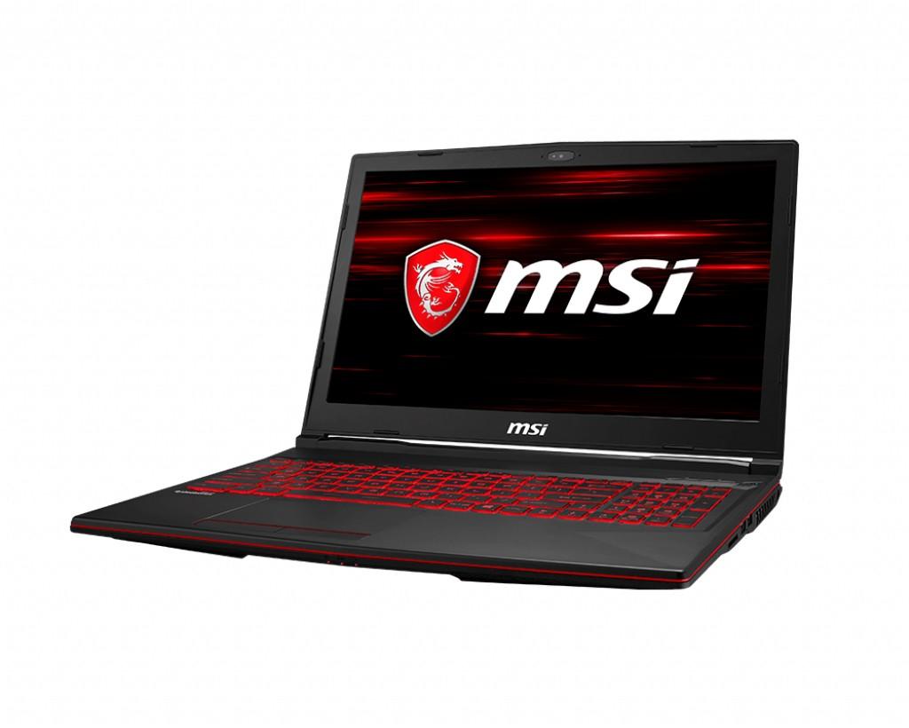 "Herní notebook MSI GL63 8SD-464CZ 15"" i7 16GB, 256GB + 1TB, 6GB"