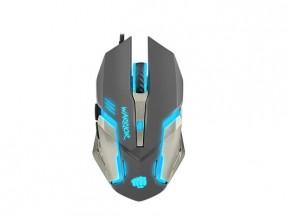 Herní optická myš FURY Warrior. 3200 dpi, černá POUŽITÉ, NEOPOTŘE