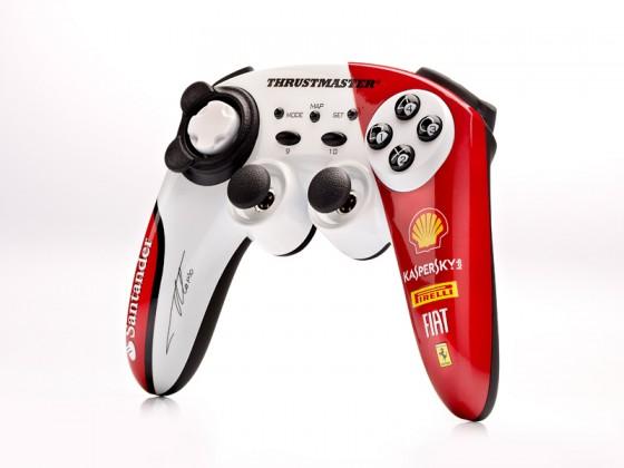 Herní ovladače Thrustmaster Bezdrátový Gamepad F150 Italia - Alonso (2960731)