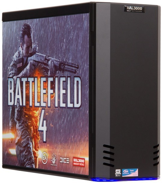 Herní PC sestava HAL3000 Battlefield 4 /AMD FX-6350/8GB/1TB/ATI R9 270X/DVD/ W8.1