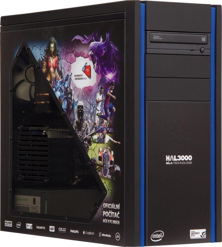Herní PC sestava HAL3000 MČR / Intel i5-4570/ 8GB/ 1TB/ GTX650/ W8.1