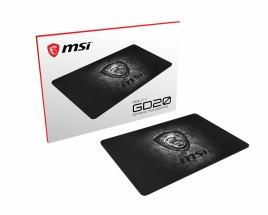 Herní podložka pod myš MSI AGILITY GD20, 320x220x5mm