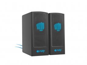 Herní reproduktory FURY Skyray 2.0, 5W, černá
