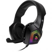 Herní sluchátka Connect IT BATTLE RGB Ed. 3, černá