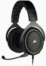 Herní sluchátka Corsair HS50 PRO Stereo Green