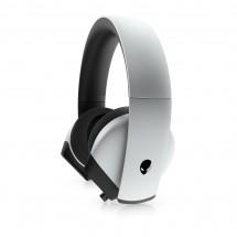 Herní sluchátka DELL Alienware AW510H, mikrofon, stříbrná