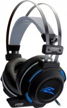 Herní sluchátka EVOLVEO Ptero GHX300, podsvícené, s mikrofonem