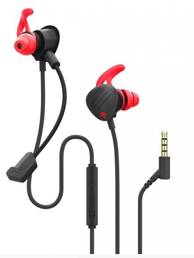 Herní sluchátka Herní sluchátka Genesis Oxygen 400, černá