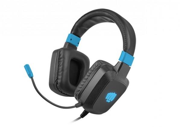 Herní sluchátka Herní stereo sluchátka FURY Raptor, RGB, černá