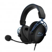 Herní sluchátka HyperX Cloud Alpha S, modrá