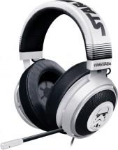 Herní sluchátka Razer Kraken Stormtrooper Ed., 7.1, bílá